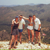 The gang enjoying the slight coolness of the Cypriot mountains